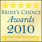 WeddingWire - 2010 Bride's Choice Award