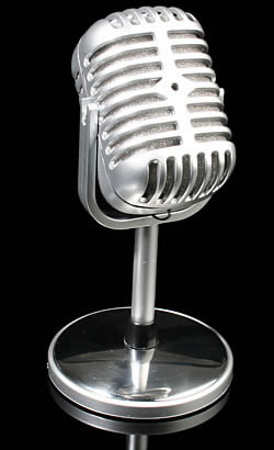 Polished Microphone
