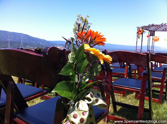 Boulder Ridge - Ceremony Flowers
