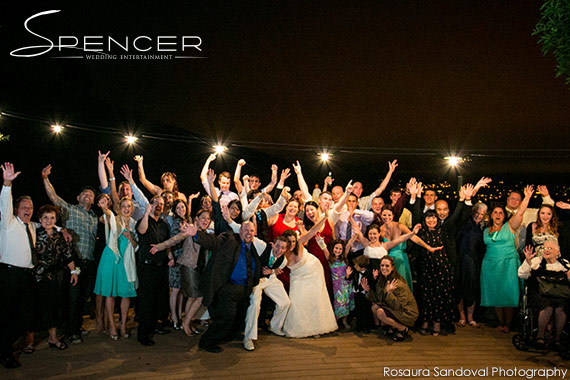 Wedding Party at Bella Montagna Estate in San Jose