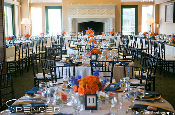 Wedding DJ Bridges Golf Club - Room Setup