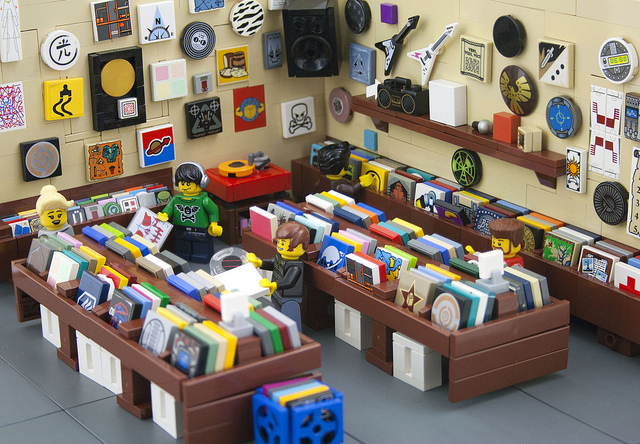 LEGO Record Store - Spencer Weddings | Sacramento, Folsom, Roseville ...